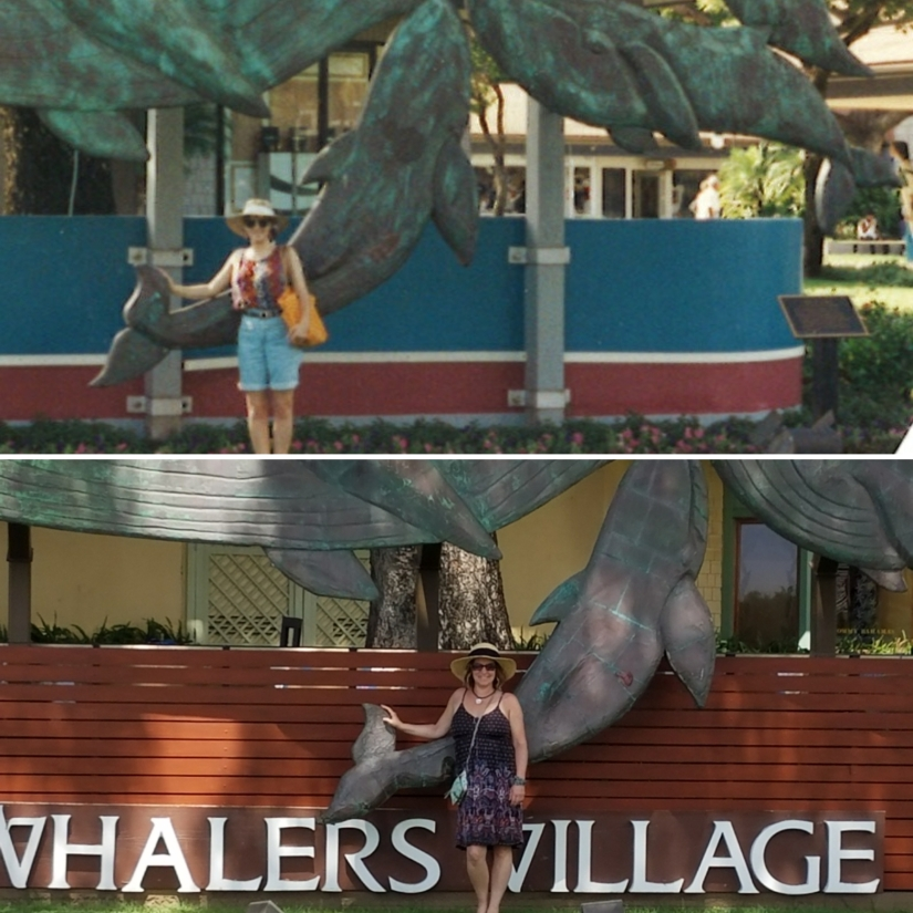 side by side whalers village